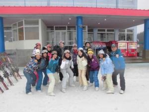 第7回スキー実習を行いました